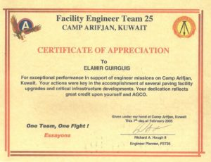 Facility Engineer Team 25