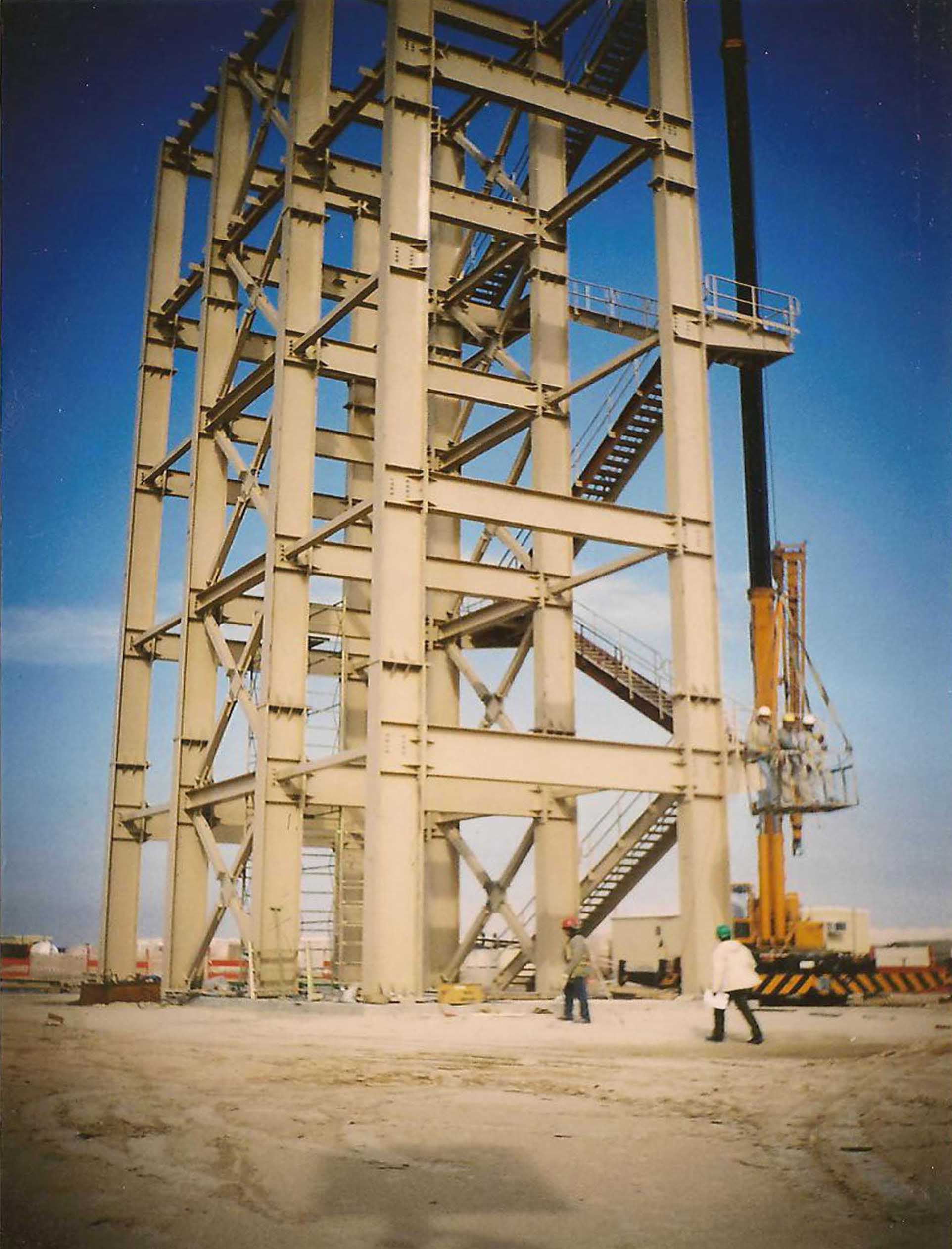 erection of all steel structures tmc bldg merona With all steel structures