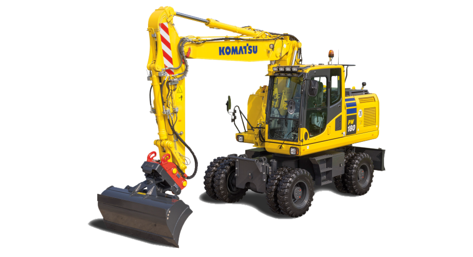 Merona Inernational Company - Equipment - Wheeled Excavator